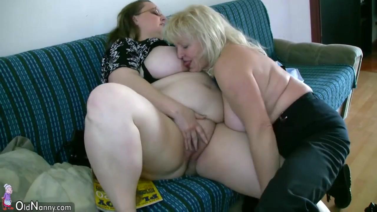 �� 40 летняя баба лесбиянка трахает толстую 60 летнюю бабушку ...